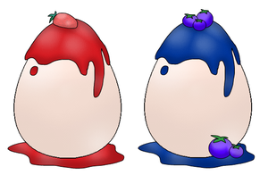 [OTA] Panna Cotta Egg Adopts by J-M-X-P
