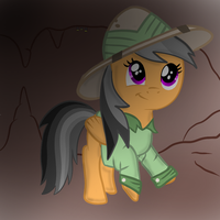 Filly Daring-Do by Ezynell
