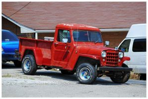 A Willys Pickup Truck by TheMan268