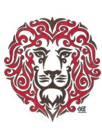Tribal Lion by SwampedTruth