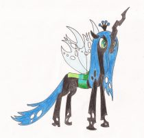 Queen Chrysalis by kiinastar