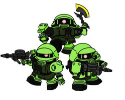 Zako Soldiers by AleximusPrime