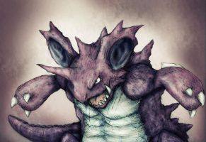 Nidoking by Friendermen
