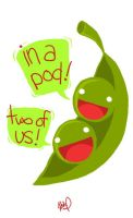 peas. by blackbirdpie