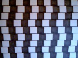 Straight or Diagonal? by 98-keys-99-rooms