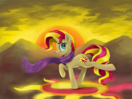 Sunset Dawn by Fahu