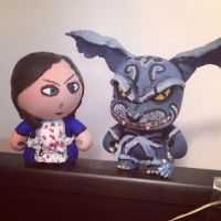 American McGee Munny by PMiow