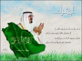 King of Saudi Arabia by rawaea