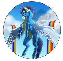 Soarin Bubble by Kuroleopard