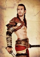 Gannicus - Spartacus Cosplay by Leon Chiro by LeonChiroCosplayArt