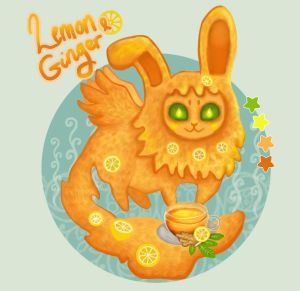 [open] Lemon and ginger Beryle by Cinder-Cat