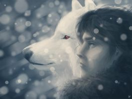 Jon Snow by Kirana