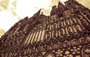 Lichfield Cathedral by Horroromance