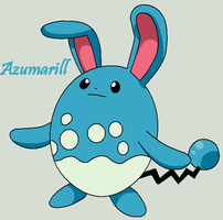Azumarill by Roky320