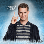 Daniel Tosh drawing, host of Tosh.0 by OdieFarber