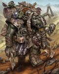 Ork Mountaineer by MikeFaille