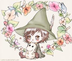 Snufkin by Lumircia