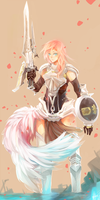 FFXIII-2 Lightning by Re-SilverFlare