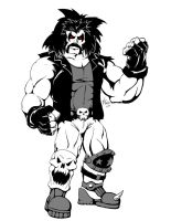 Free Sketch 12-1-9 Lobo by Dub-T