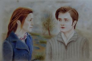 Michael and Anahita - harry and harmione by mritunjay-singh