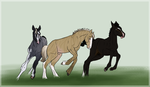 Accidental Foal Auction by BrindleTail