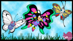 Spring Time fun with Butterfly Zabrina by CCgonzo12