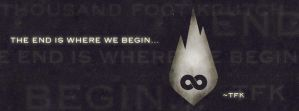 The End Is Where We Begin Facebook Cover by Acrylix91