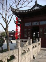 Pretty building by Laura-in-china
