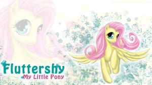 Fluttershy Wallpaper by Anniasha