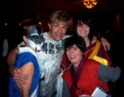 Us with Vic Mignogna by corinnelovesyoux