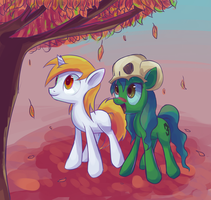 Request: A Pillar of Autumn by Mister-Markers
