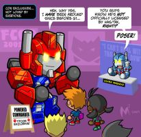 Lil Formers - City Commander by MattMoylan