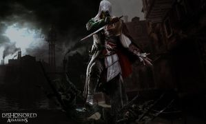 Dishonored and Assassins Creed Wallpaper by PixelPredator3