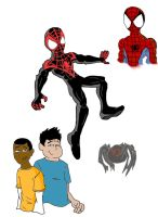 ultimate comics spiderman by ultimatejulio