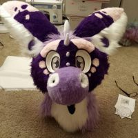 dragon fursuit Spiffy by PickleMittens