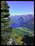 View to the fjord by LivGreteS