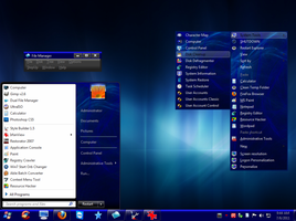 Win7 Dark Blue 2 by PC2012