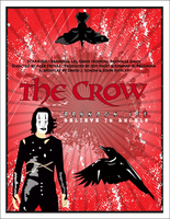 The crow movie poster by brootalz