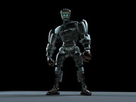 Atom from Real Steel by anihausdrew