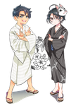 jj and seung-gil : onsen Collabo ver. by wish114