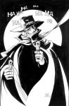 The Shadow inks by kwill916