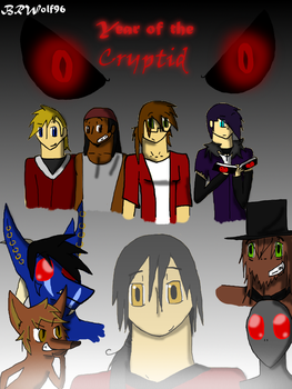 Year of the Cryptid Cover by blackandredwolf96