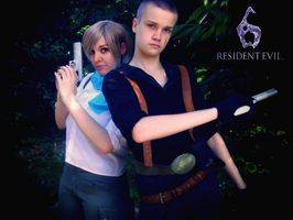Sherry and Jake - Cosplay by ladykobra