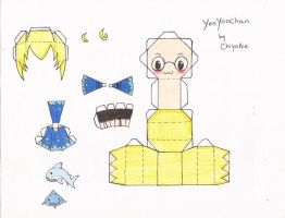 YenYonChan Papercraft Template by Vee-Vii
