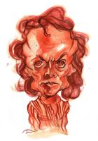 Miles Davis Watercolour Caricature by StDamos