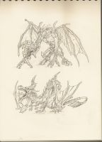 Dragons by Melody68