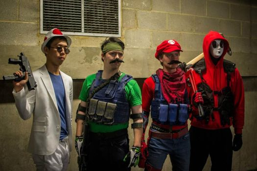Mario Warfare group by SquallWolfheart