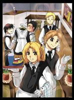 Fullmetal Cafe by raidenokreuz76