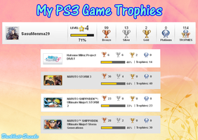 My PS3 Trophies by Levi-Ackerman-Heicho