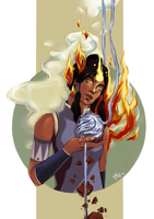 avatar Korra by strawberry-mint